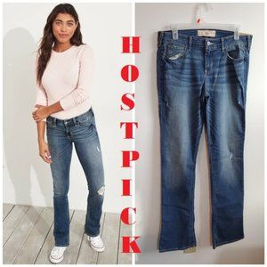 Hollister Classic Stretch Low-Rise Boot Jeans 11L